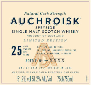 Auchroisk 25 year old Special Releases