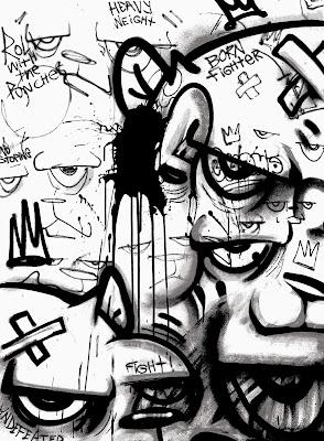 "The Bear Champ ""Mind Games"" Screen Print by JC Rivera x Marcel Katz Art"