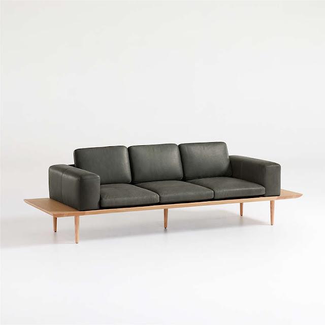 Plateau Leather Sofa