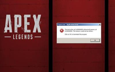 Error r5apex.exe Apex Legends Cara Untuk Memperbaiki fix it