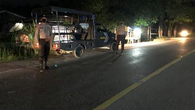 Antisipasi Kejahatan 3C di Malam Hari, Polsek Rantau Selamat Rutin Lakukan Patroli Malam