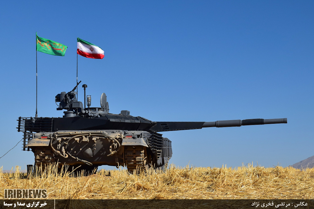 0ac6277489c0 Below The Turret Ring  Production version of the Karrar MBT unveiled ...