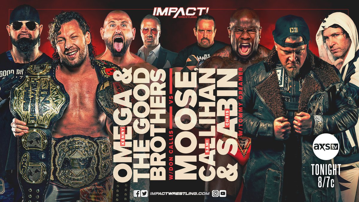 Cobertura: IMPACT Wrestling (01/07/2021) – Extreme!