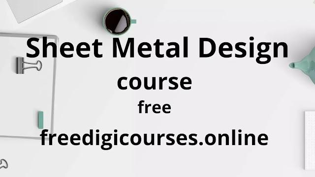 Sheet Metal Design Course