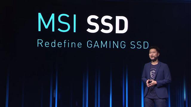 MSI Rilis SSD Berkecepatan 7 GB/s Khusus untuk Gamers !