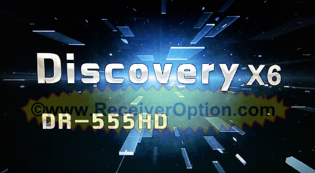 DISCOVERY X6 DR-555HD RECEIVER NEW SOFTWARE WITH ECAST OPTION
