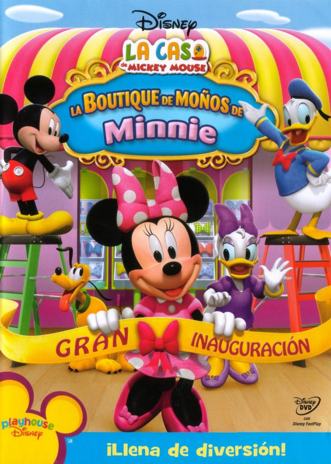 dvd group coleccion de dvd pack de mickey mouse 6. Black Bedroom Furniture Sets. Home Design Ideas