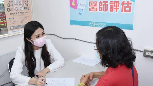 彰基醫學中心流感疫苗開打 力拼秋冬多重防護