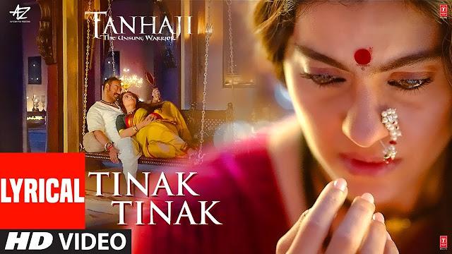 Tinak Tinak Lyrics tanhaji