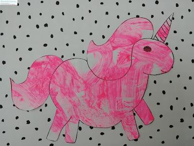 licorne à imprimer coloriage licorne licorne à la peinture