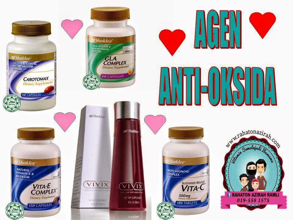 agen antioksidan dari shaklee pencegahan kanser anti cancer