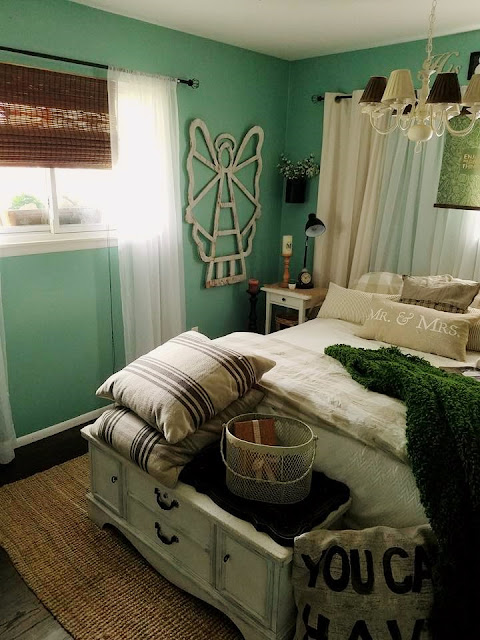 The Quaint Sanctuary Comfy Cottage Master Bedroom Update With Sentimental Items
