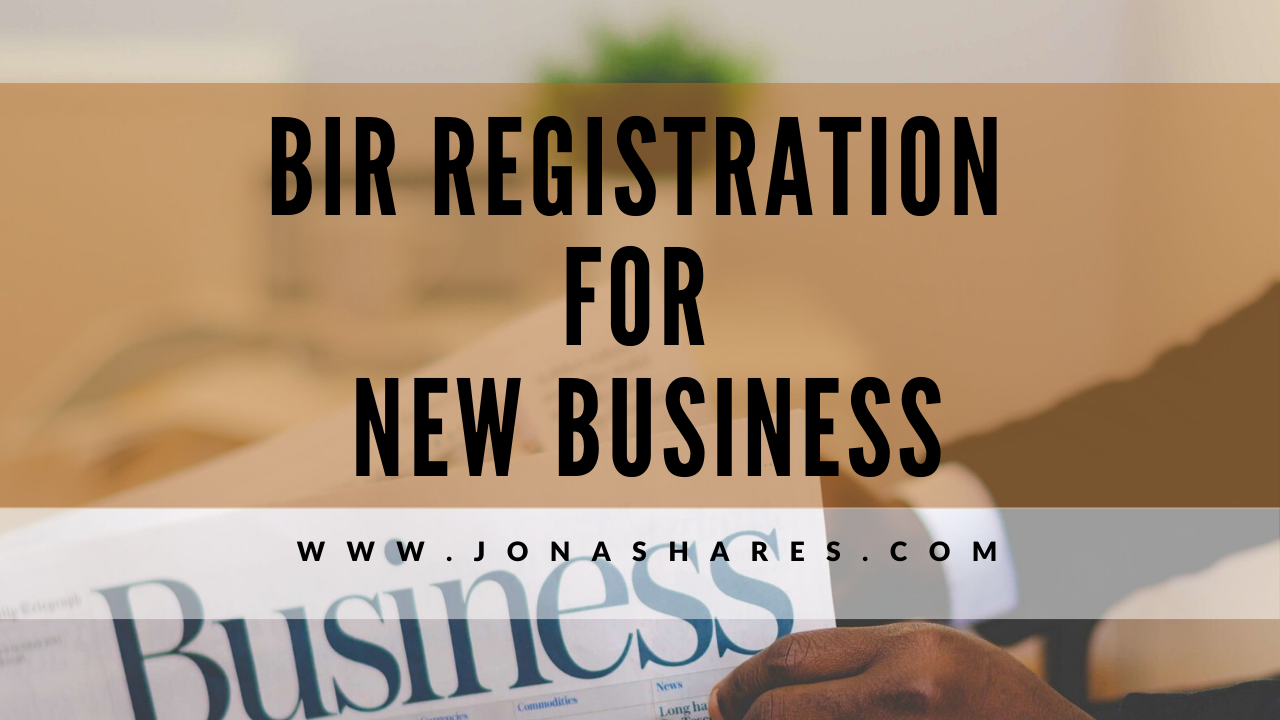 BIR Registration for New Business