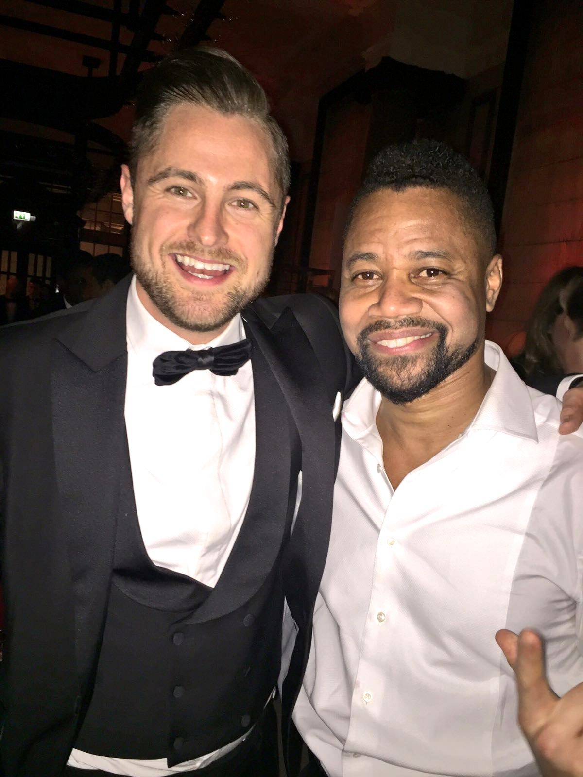 Cuba Gooding Junior and Ben Heath at the BAFTA's Harvey Weinstein Afterparty 2016