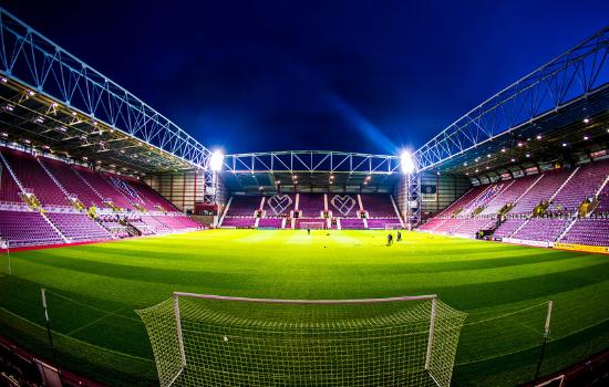 best stadiums in uk hearts