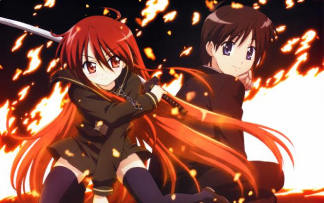 Shakugan no Shana - Top Fantasy School Anime List