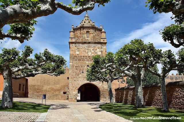 Torre barbacana monasterio de Veruela