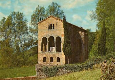 Santa María del Naranco. Oviedo, postal
