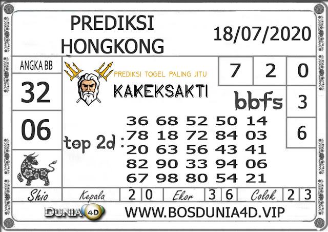 Prediksi Togel HONGKONG DUNIA4D 18 JULI 2020