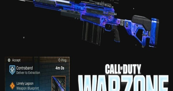 How to Unlock Lonely Lagoon Ax50 Blueprint in Call of Duty: Warzone