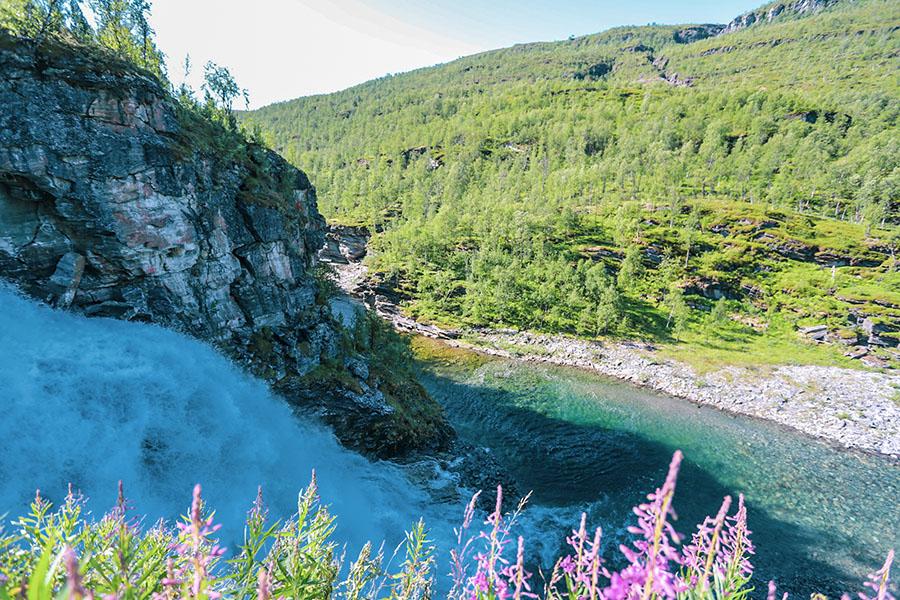 Rovijokfossen Rovijoki-vesiputous
