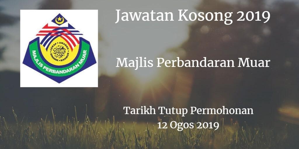 Jawatan Kosong MPM 12 Ogos 2019