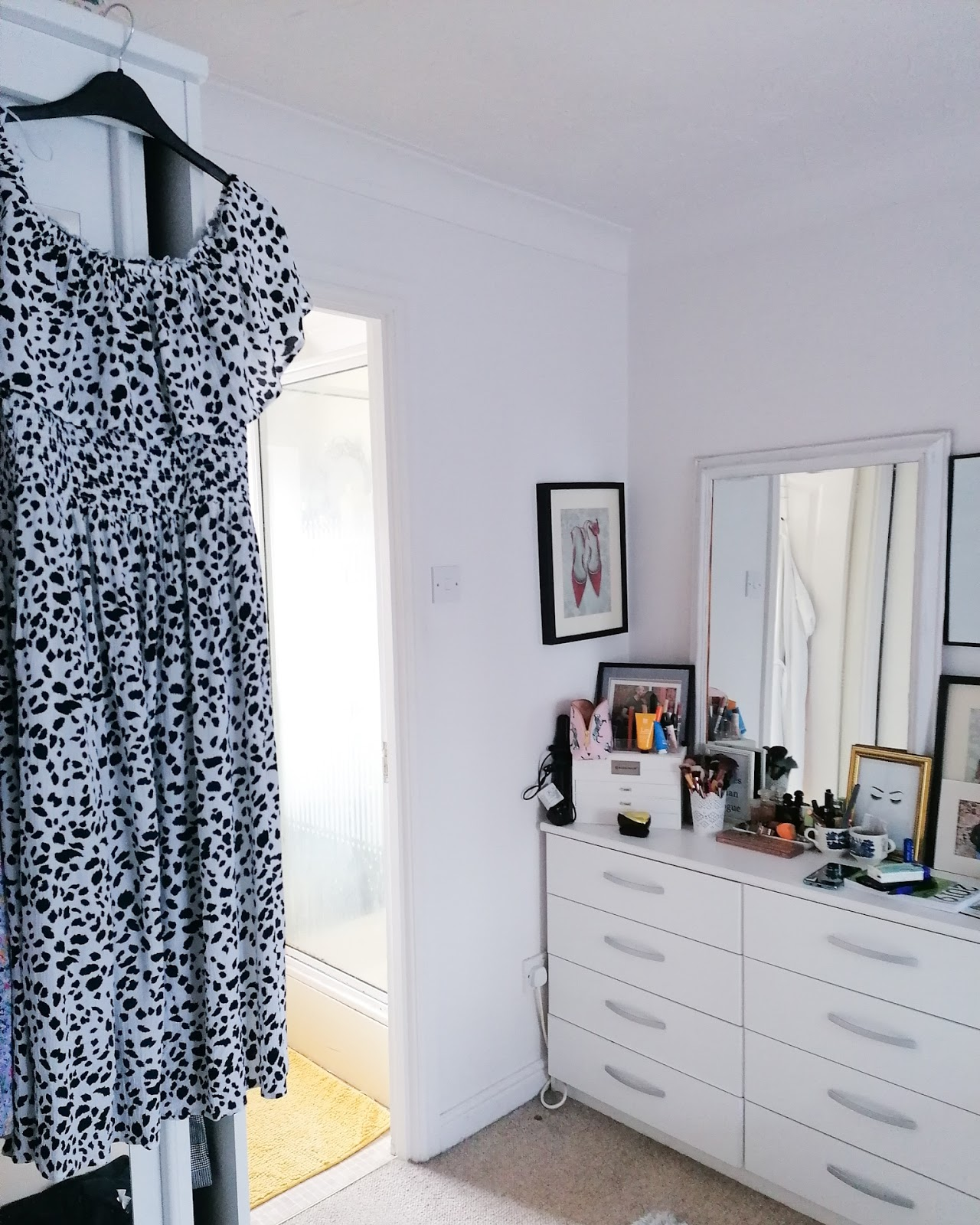 Next dalmation print dress