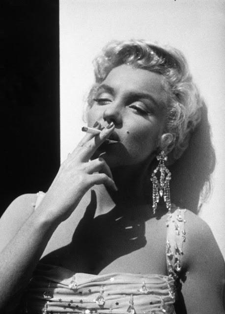 Fotografías de Marilyn Monroe en el rodaje de Luces de candilejas