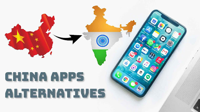 Best Chinese apps alternatives in India