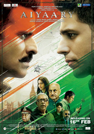 Aiyaary 2018 Full Hindi Movie Download