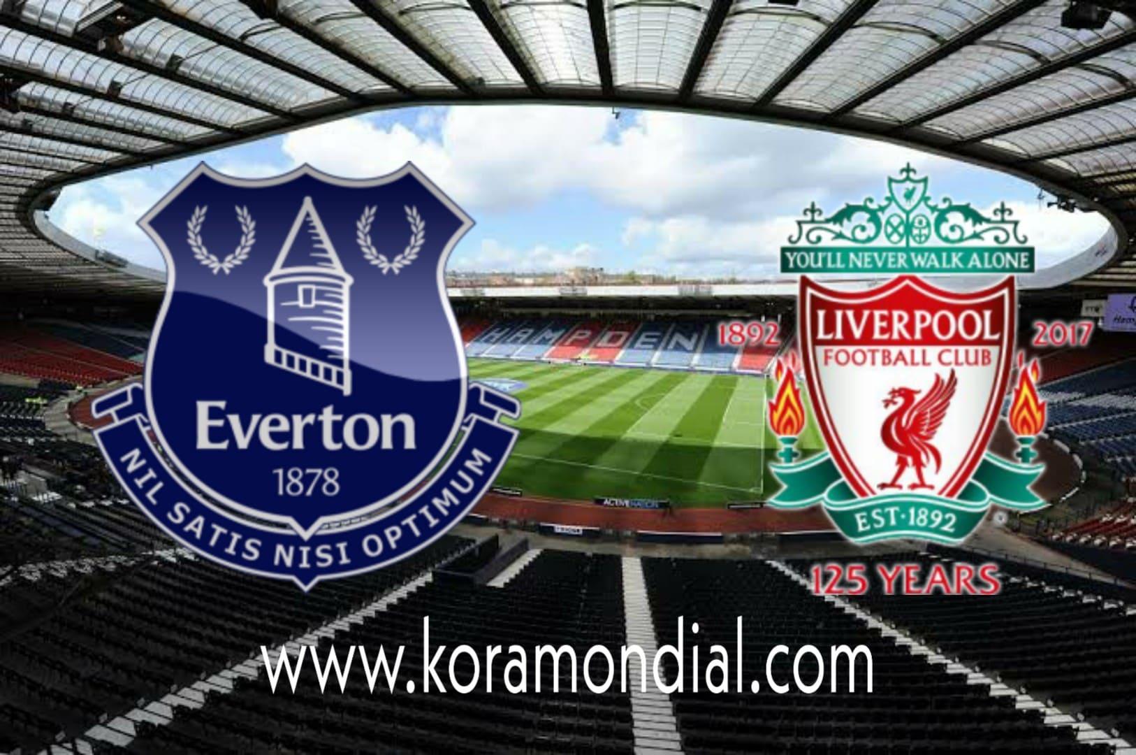مشاهدة مباراة إيفرتون و ليفربول بث مباشر اليوم 17-10-2020 في الدوري الإنجليزي الممتاز