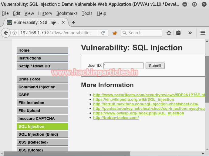 SQL Injection Exploitation in Multiple Targets using Sqlmap