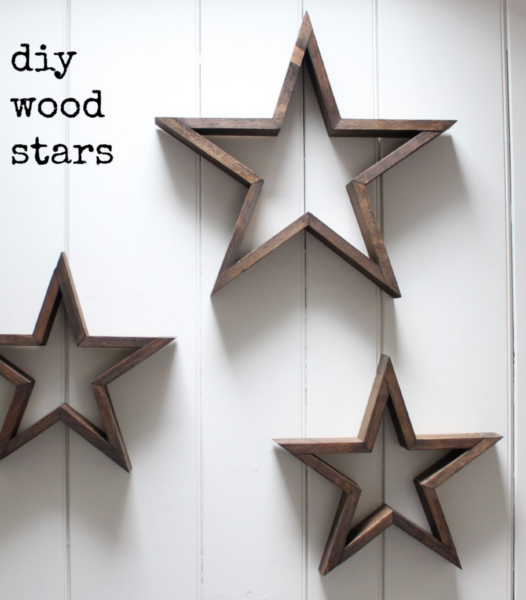 Diy home sweet home 10 beautiful scrap wood projects - Scrap wood decorated house ...