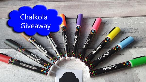 Chalkola Chalk Pens in various colours