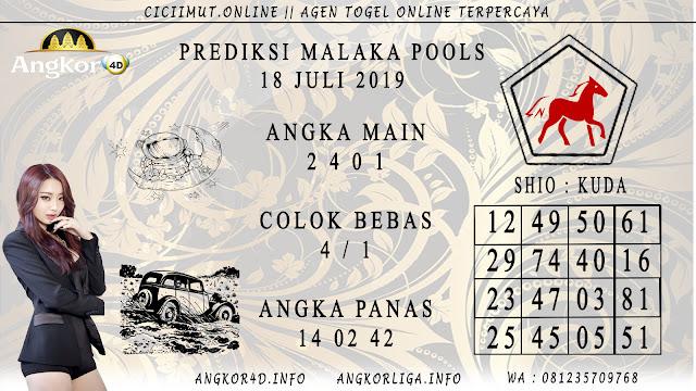 PREDIKSI MALAKA POOLS 18 JULI 2019