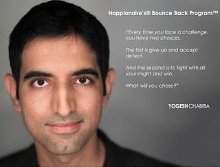 Happionaire's Bounce Back Program - Yogesh Chabria