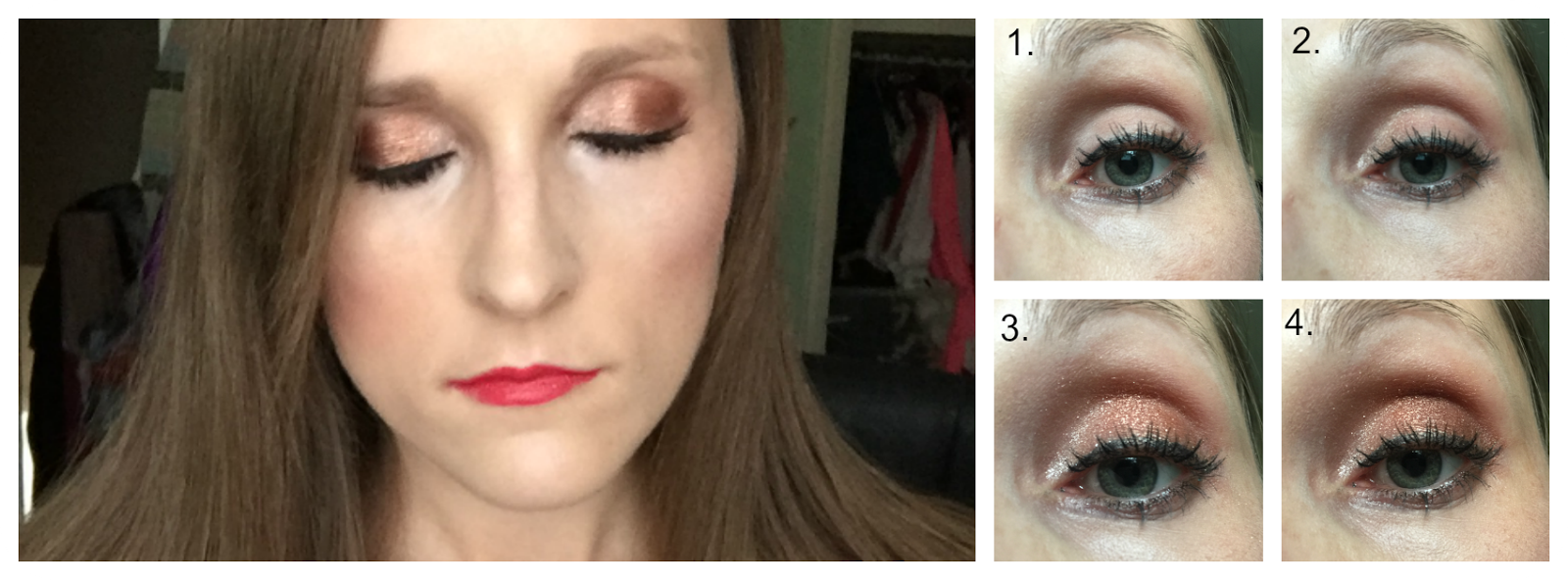 makeup revolution girl panic nude look
