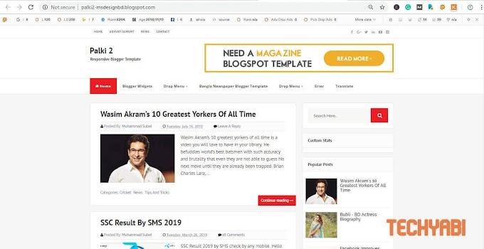 Palki 2 premium template latest version of 2019