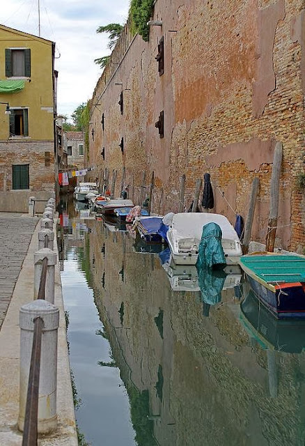 Reflections In Venice Canal