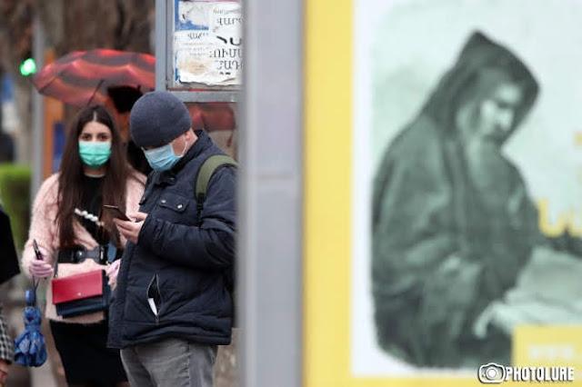65 nuevos casos coronavirus Armenia
