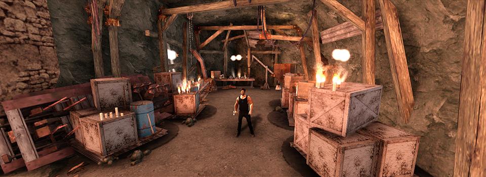 Stark cave's interior in GTA San Andreas