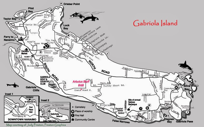 The Kitchen Gabriola Island