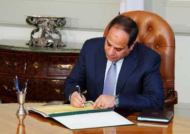 عاجل : الرئيس السيسي يقرر تجميد والغاء قانون التصالح