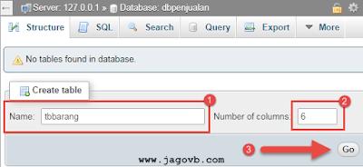 Cara Membuat Database dan Tabel MySQL