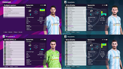 PES 2020 Facepack Virtus Entella by Random Facemaker