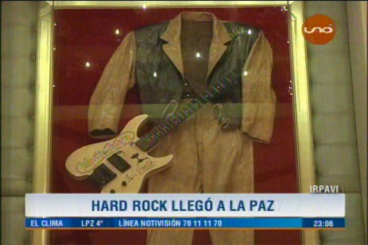 HARD ROCK CAFÉ LLEGÓ A LA PAZ