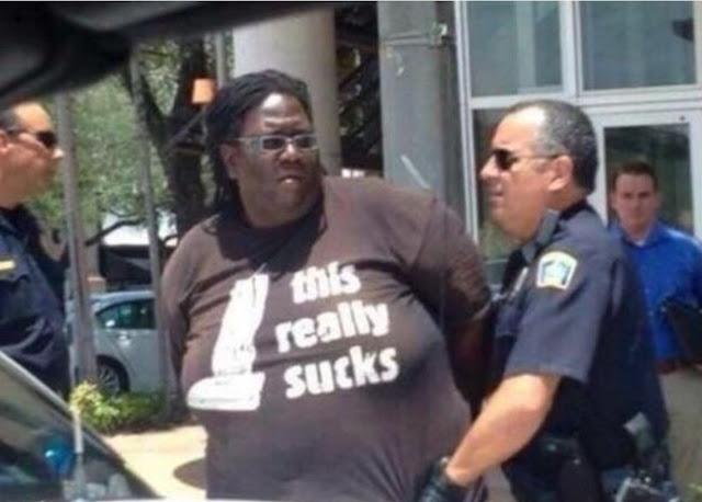 This Really Sucks shirt.  PYGear.com