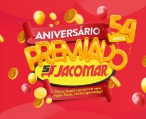 Cadastrar Promoção Jacomar Aniversário 2020 Premiado