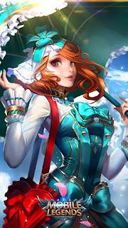 Kagura Flower Season Heroes Mage of Skins V2