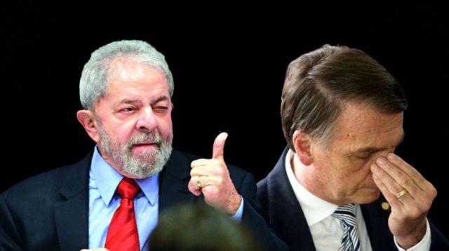 Lula abre vantagem sob Bolsonaro: no 1º turno 46% a 25% e marca 58% a 31% no 2º turno, diz Datafolha